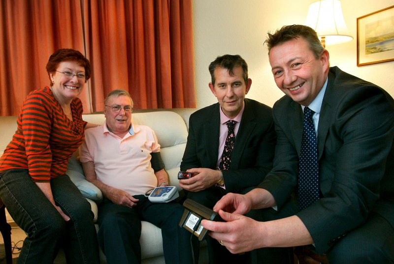 Poots launches £18m state-of-the-art Telemonitoring NI service