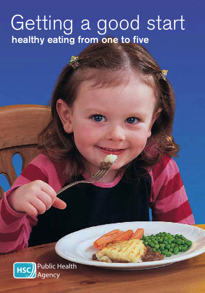 Getting a good start: healthy eating from one to five (English and translations)