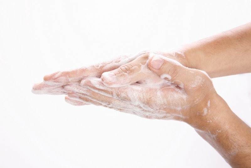 Wash your hands to help stop the spread of winter virus