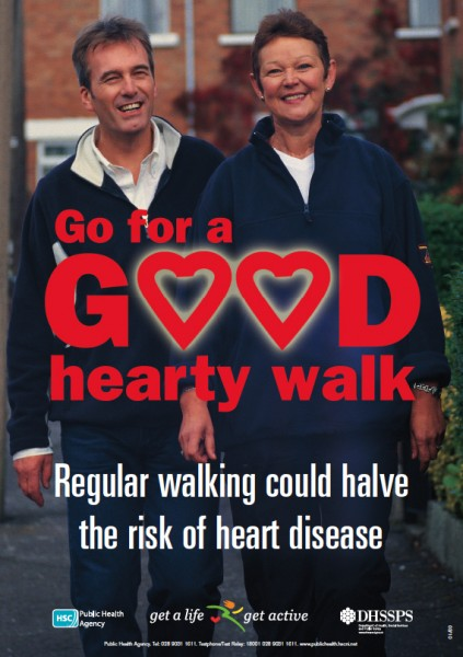 Go for a hearty walk