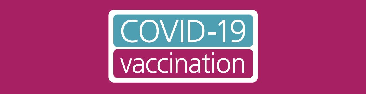 COVID-19 vaccination programme banner