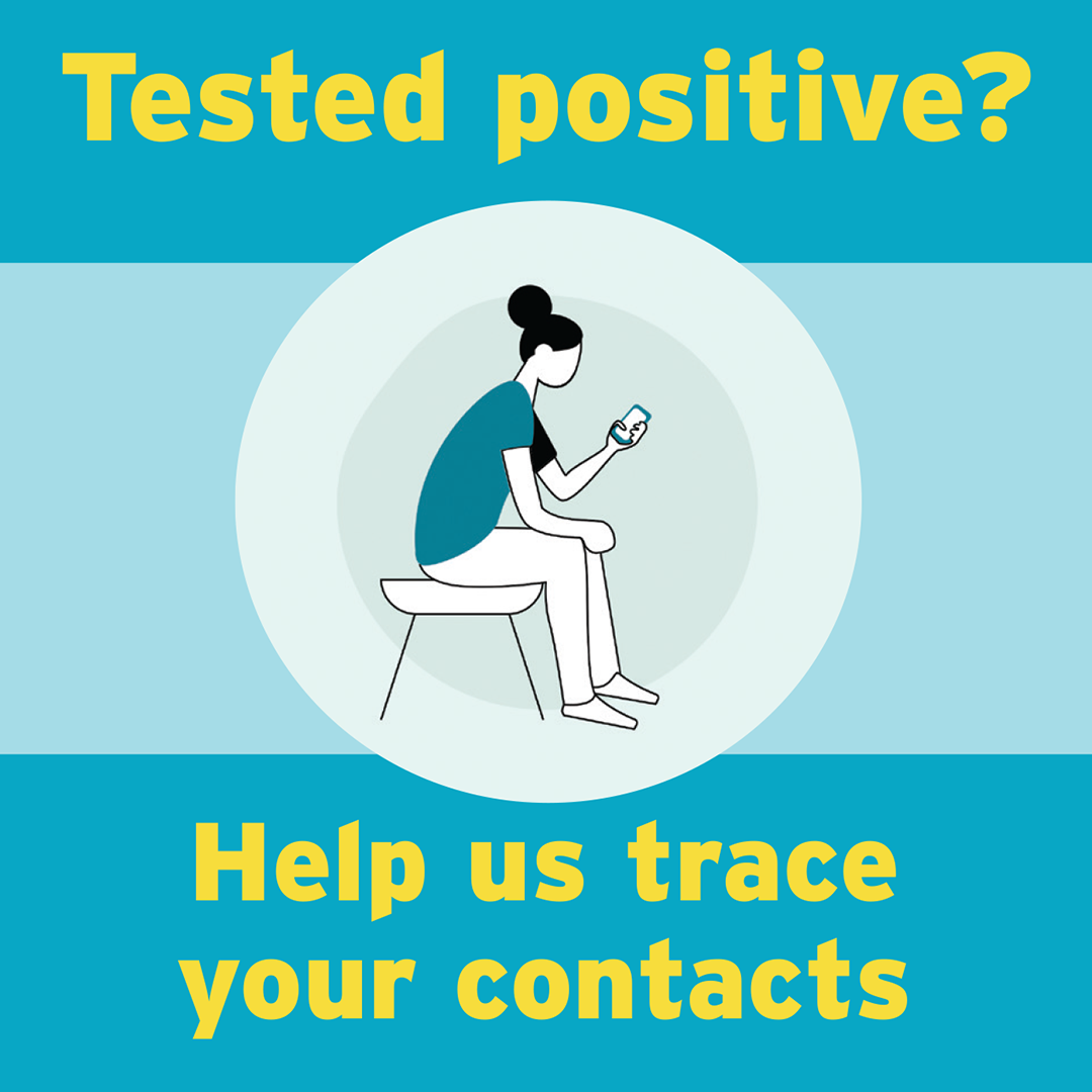 Help us trace your contacts