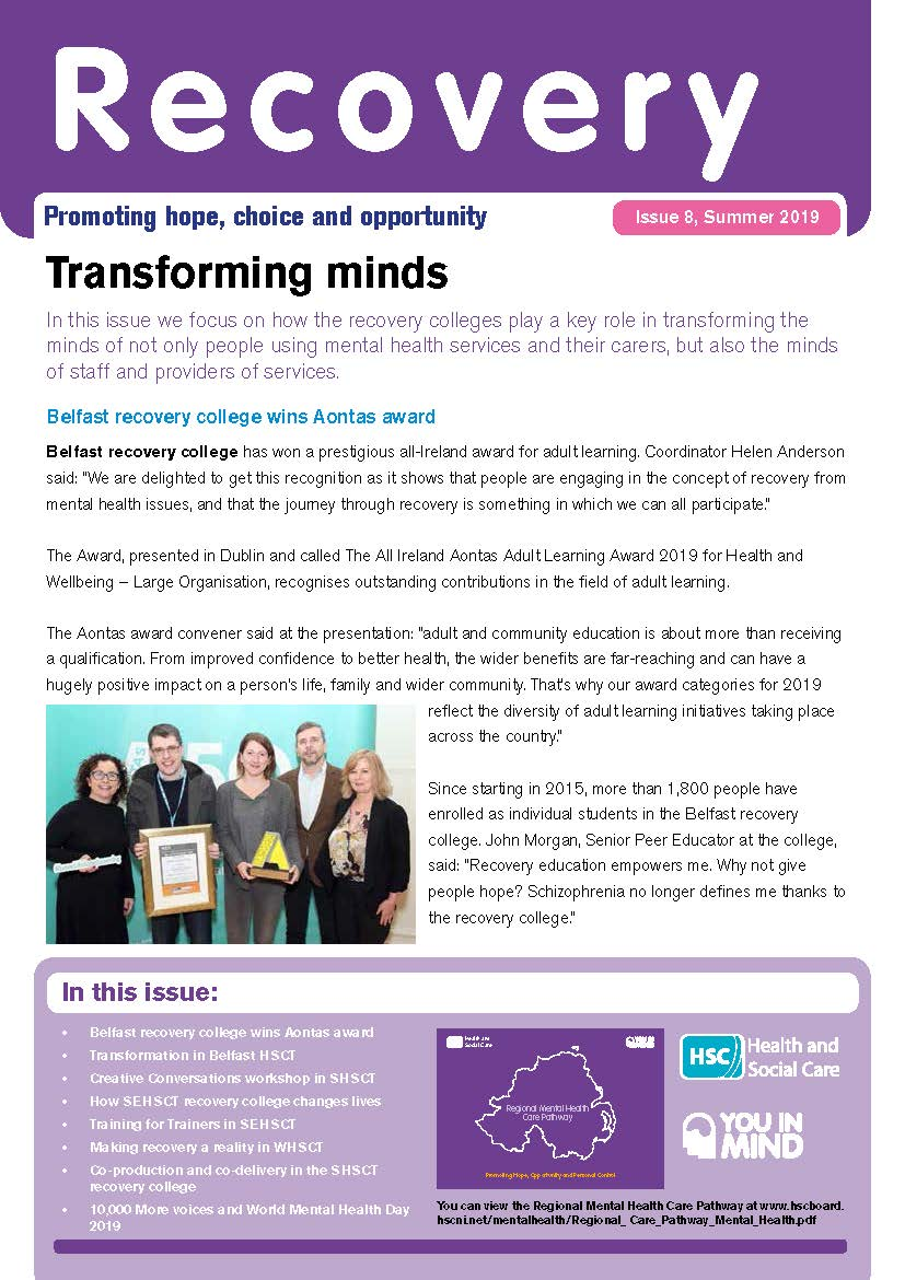 Recovery newsletter issue 8