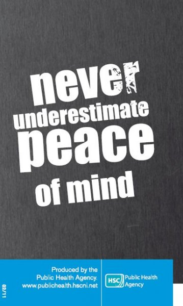 Never underestimate peace of mind
