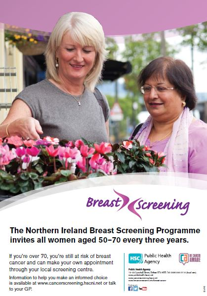 Breast screening poster