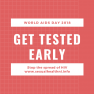 get tested early