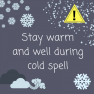 Public health advice during cold spell