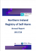 Cover of self harm report