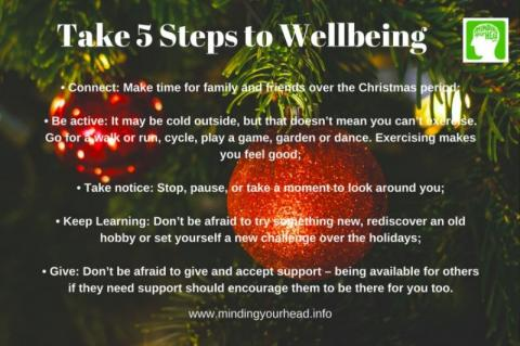 Look after your mental health this festive season