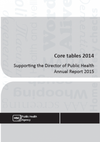 Core tables 2014 - Supporting the Director of Public Health Annual Report 2015
