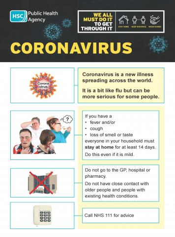 Coronavirus easy read booklet