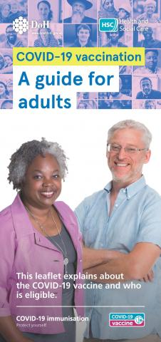 COVId vaccine leaflet for adults image