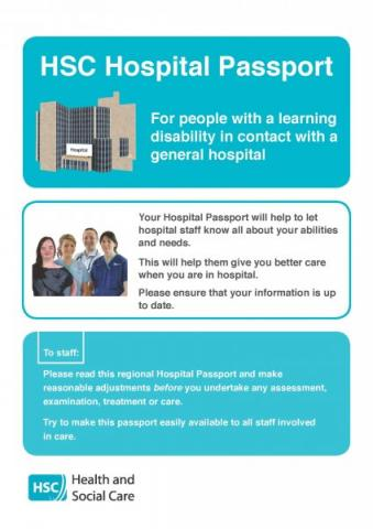 HSC Hospital Passport and Guidance notes | HSC Public Health Agency