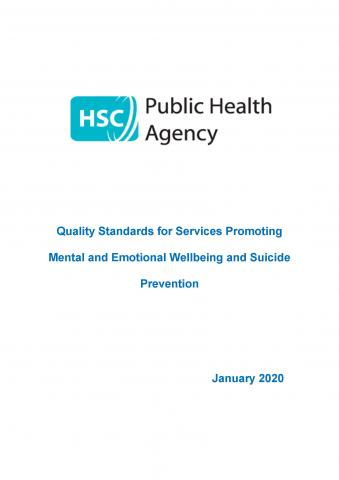 PHA Quality Service Standards cover