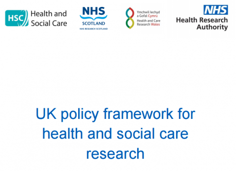 New Framework For Uk Health And Social Care Research Launched