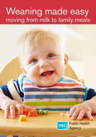 Weaning made easy: moving from milk to family meals (English and translations)