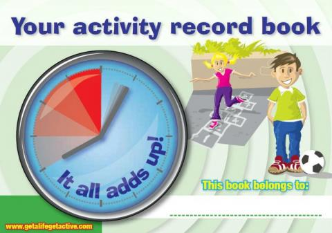 Your activity record book (English and Irish translation)