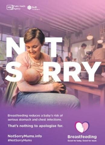 Breastfeeding campaign posters
