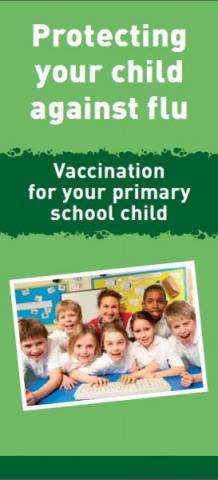 Protecting your child against flu: Vaccination for your primary school child (English and translations)