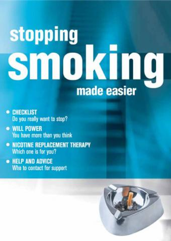 Stopping smoking made easier (English and translations)