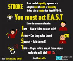 Know the FAST signs of stroke