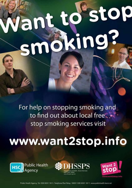 Want to stop smoking